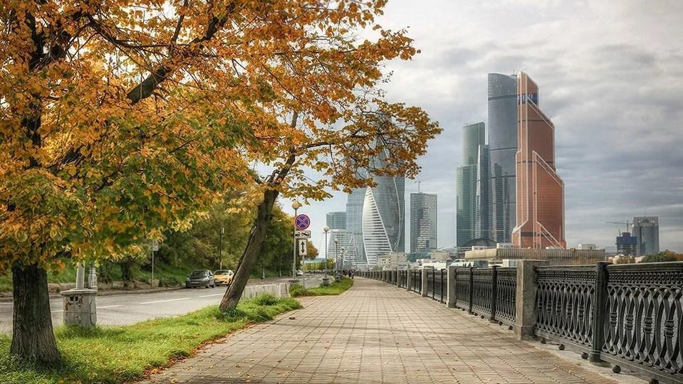 Потепление в Москве ожидается на новой неделе