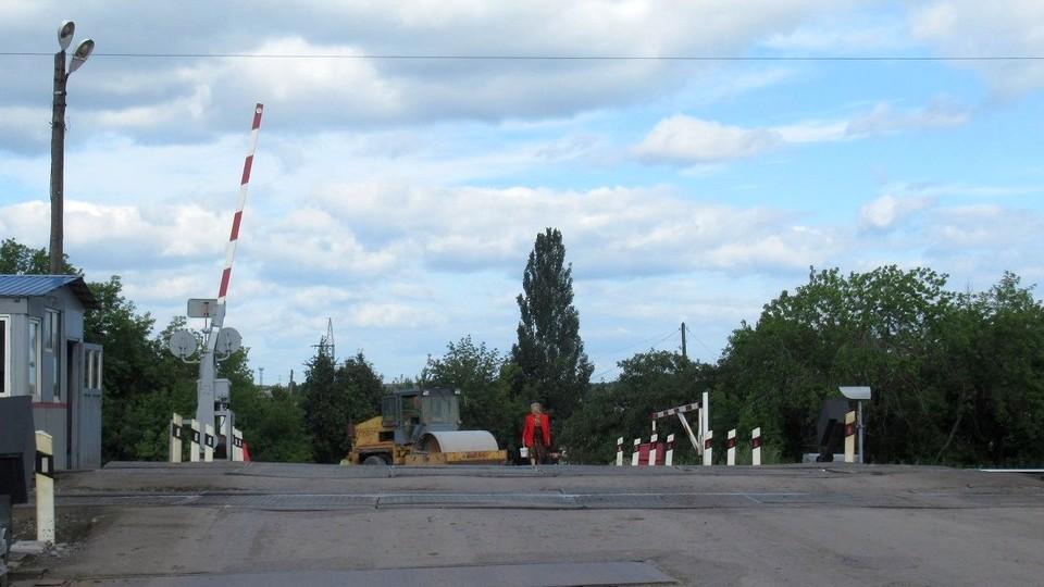 Железнодорожный переезд на 93 километре на Новый Завод закроют на ремонт