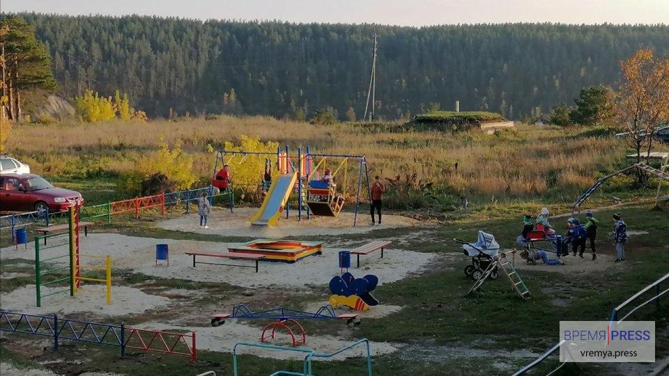 Торжественное открытие детской площадки пройдет в селе под Каменском-Уральским