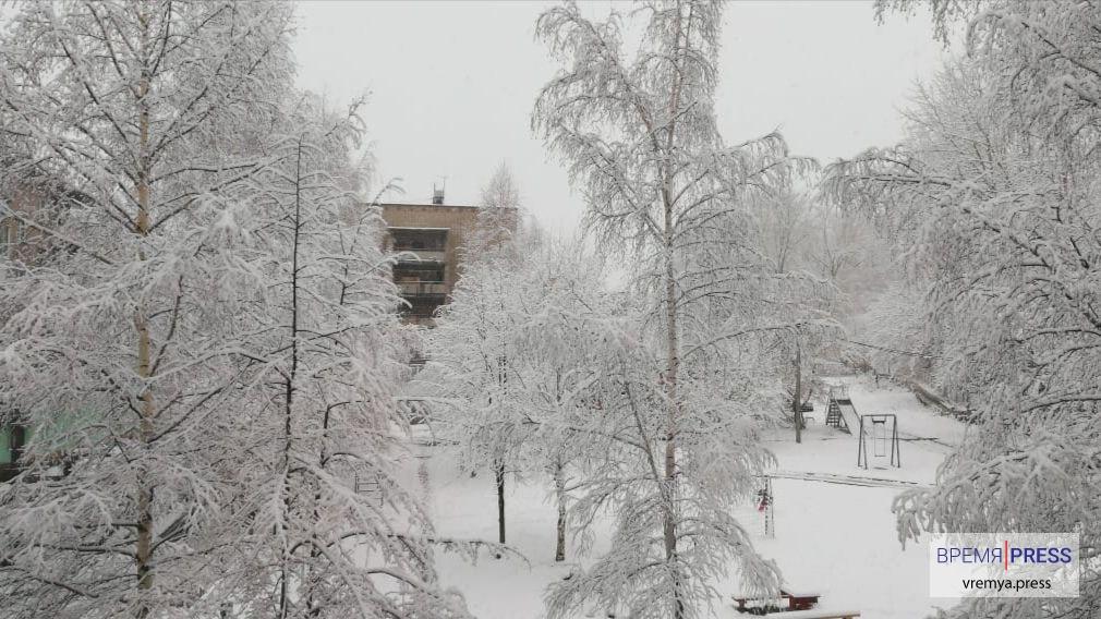 Морозы и снегопады на Урале продержатся до конца рабочей недели