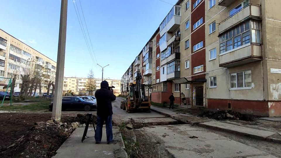 УК Теплокомлекс завершает работы по благоустройству на улице Белинского