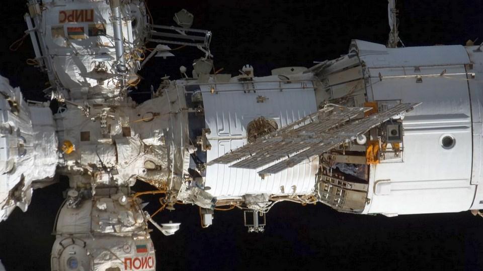 Трещина в МКС пропускает воздух в течение года