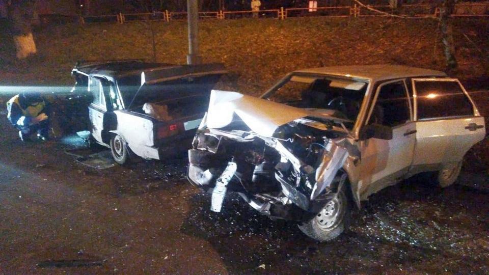 Один человек получил травмы в ДТП на улице Алюминиевой