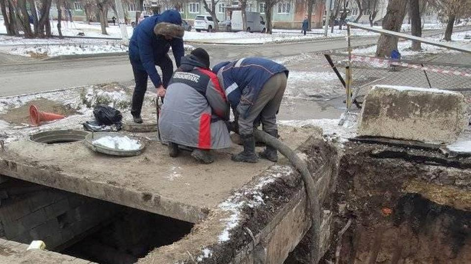 """УК """"Теплокомплекс"""" продолжает работы на улицах Белинского и 4-й Пятилетки"""