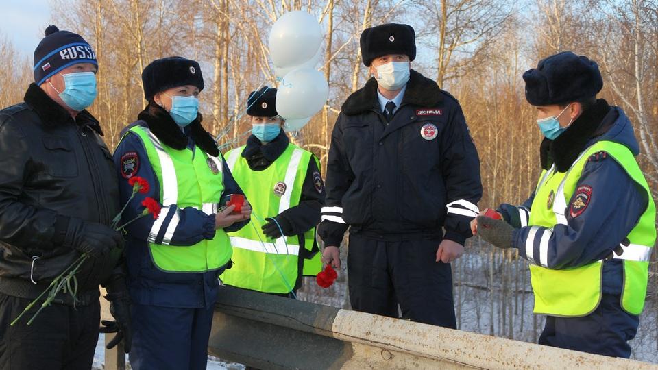 В Каменске-Уральском почтили память людей, погибших в ДТП