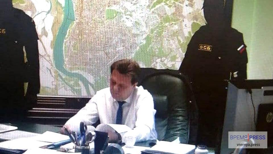 Мэр Томска задержан сотрудниками УФСБ во время совещания