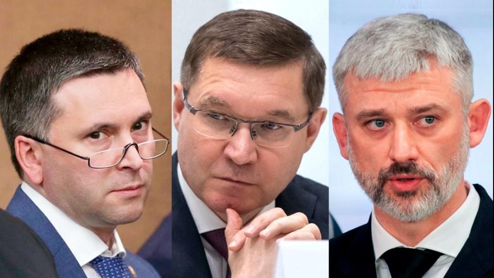Путин отправил в отставку сразу трёх министров