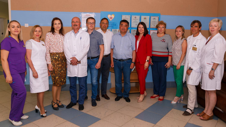 В городской больнице подвели итоги работы Манарбека Чарипова