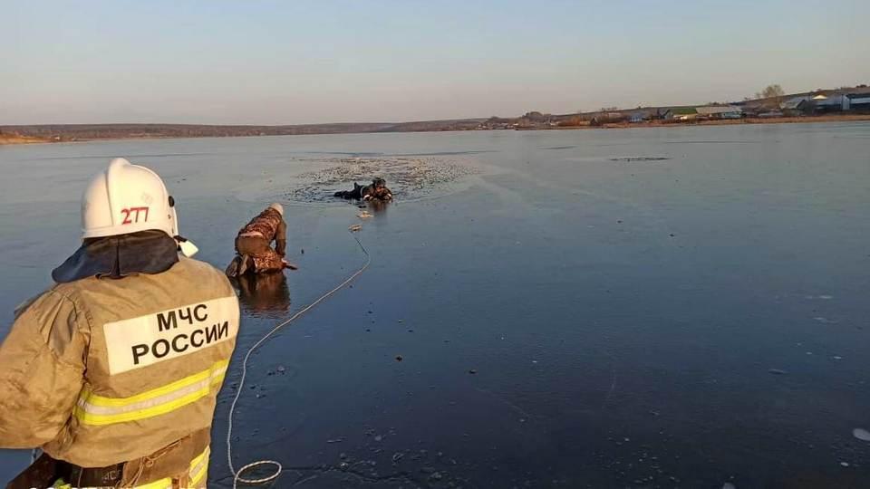 На Среднем Урале подросток провалился под лед