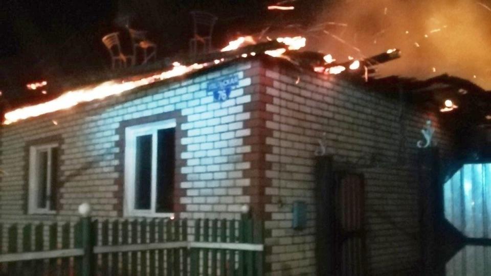 Четыре человека погибли в пожаре под Челябинском