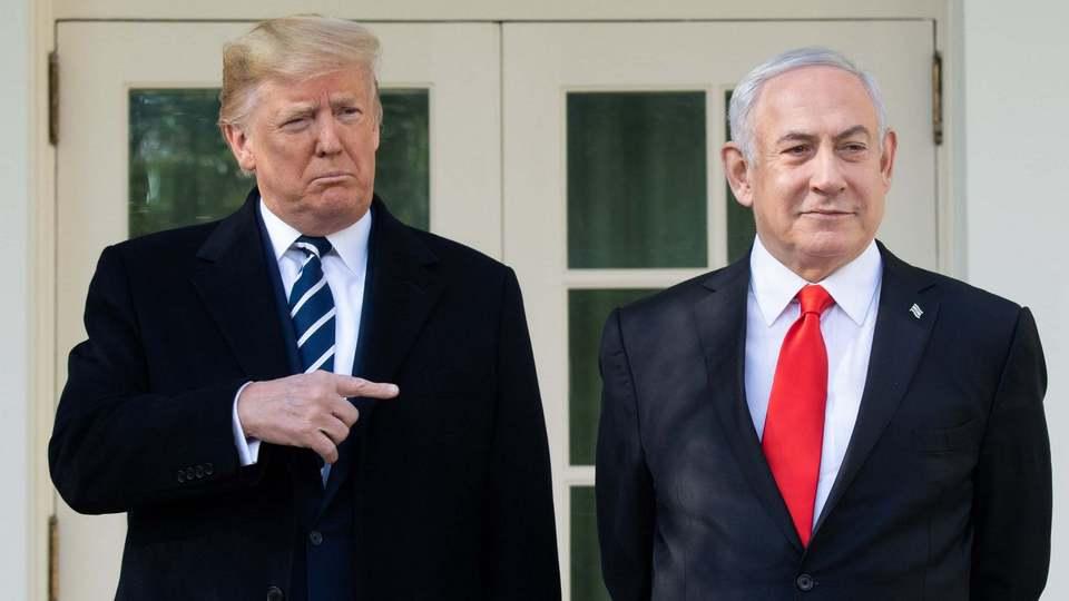 Трамп обиделся на Нетаньяху и отписался от него в Twitter