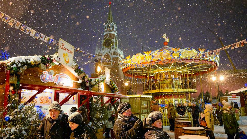 Красная площадь в Москве будет закрыта на новогоднюю ночь