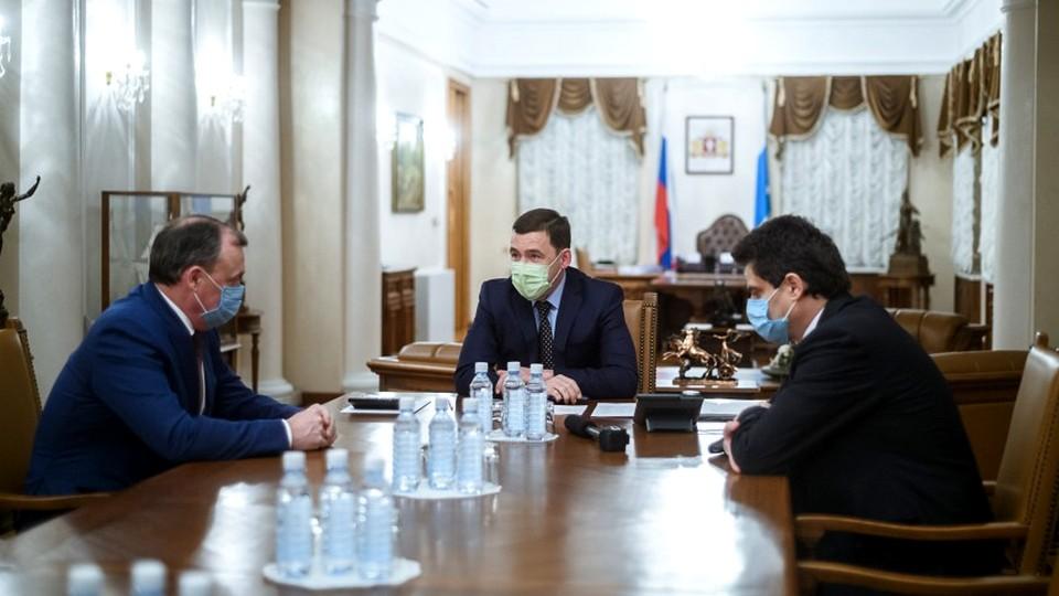 Евгений Куйвашев предложил Высокинскому стать первым замглавы региона