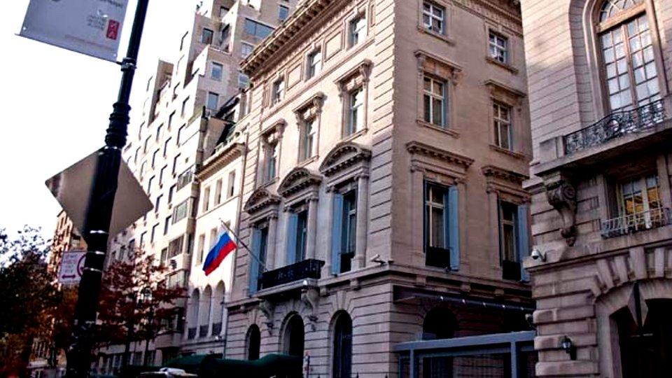 Консульство России в Нью-Йорке закрыли на карантин