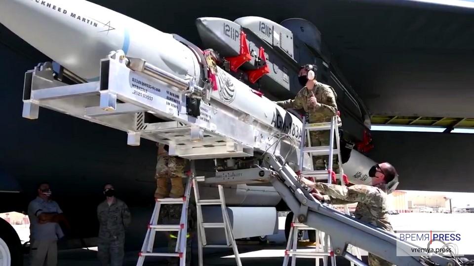 Минобороны США показало прототип гиперзвуковой ракеты