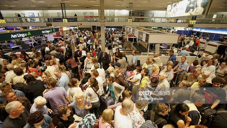 Британцы устроили потасовку на последнем рейсе до Дублина