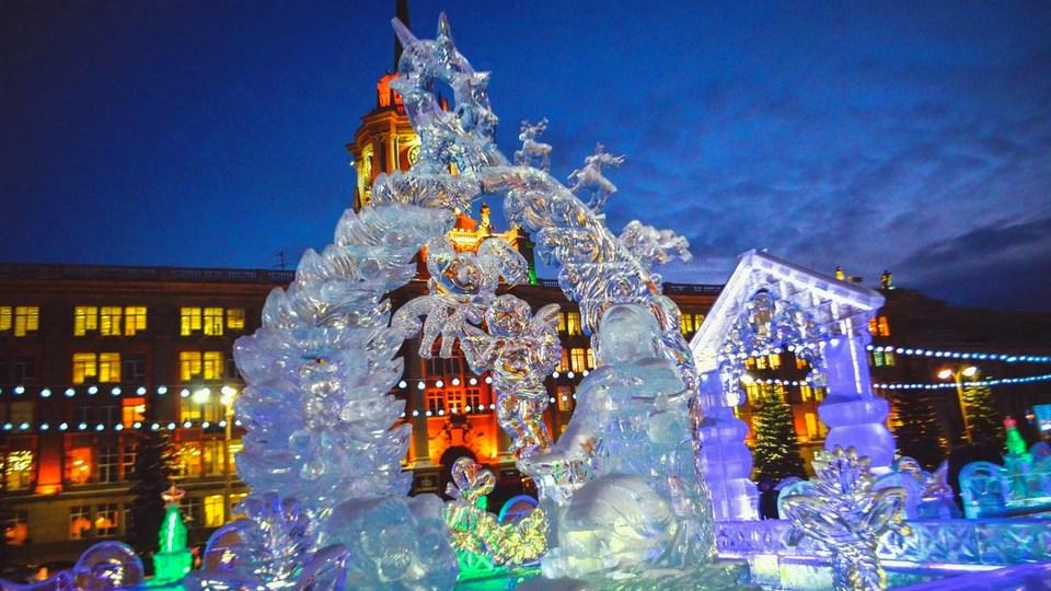 Урал и Сибирь в новогоднюю ночь ждут морозы