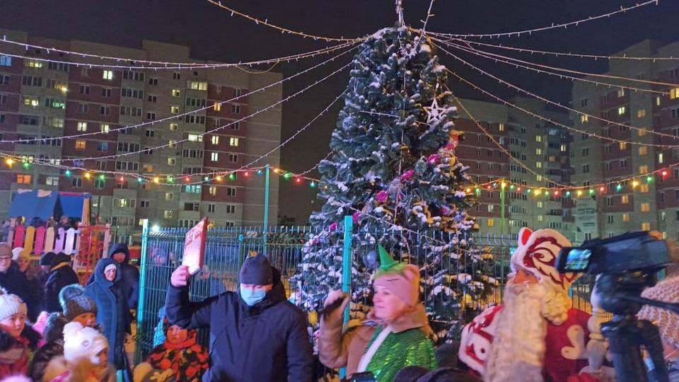 Открытие ледовых городков в Каменске-Уральском: как это было