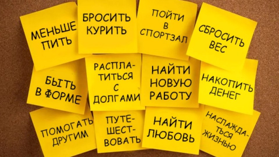 Россияне назвали цели на 2021 год