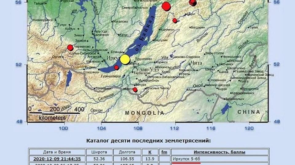 Землетрясение в Бурятии: что известно