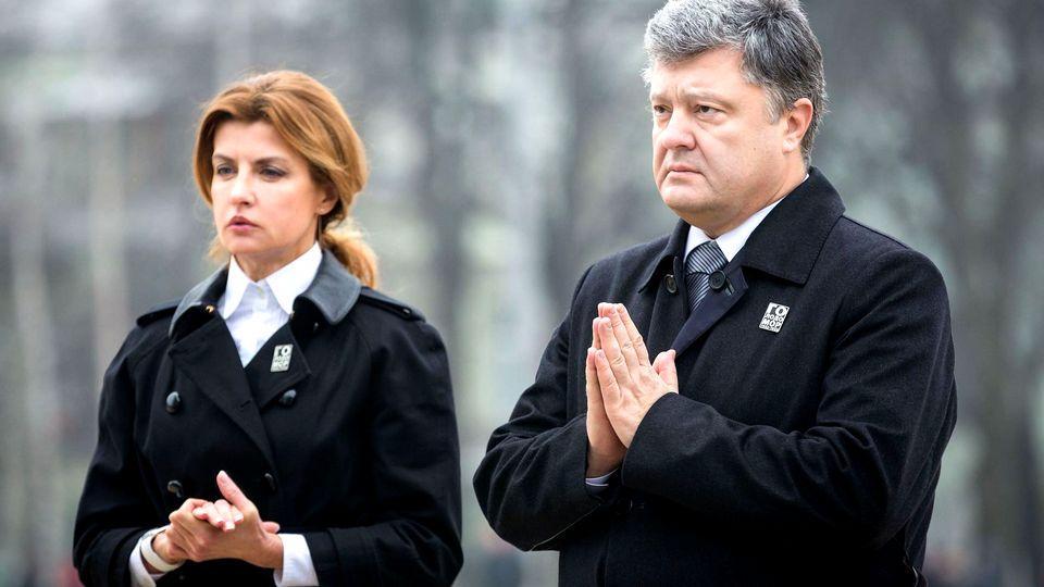 Марина Порошенко сообщила, что у них в семье хранится почти 49 млн долларов США