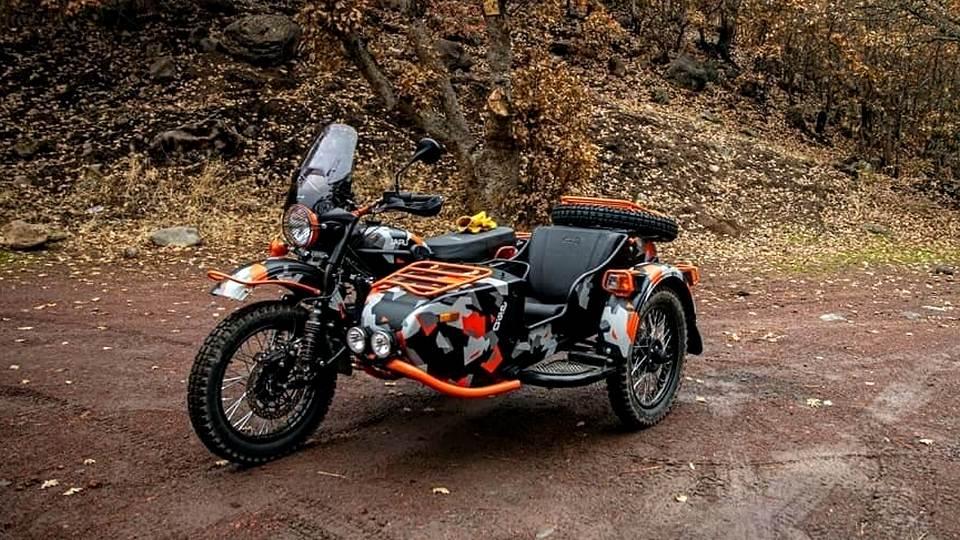 На Урале выпустили новую версию мотоцикла с коляской Ural Gear Up GEO