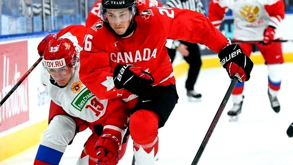 Сборная России проиграла канадцам в полуфинале молодёжного ЧМ по хоккею