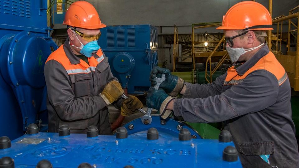 СинТЗ сократит энергопотребление за счет модернизации насосной станции энергоцеха