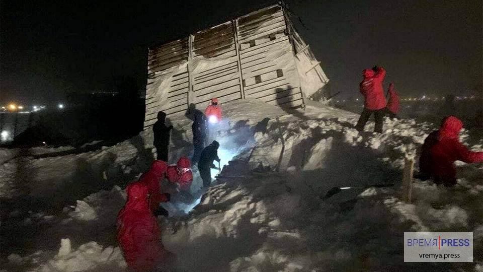 В Красноярском крае сошла лавина на горнолыжной базе
