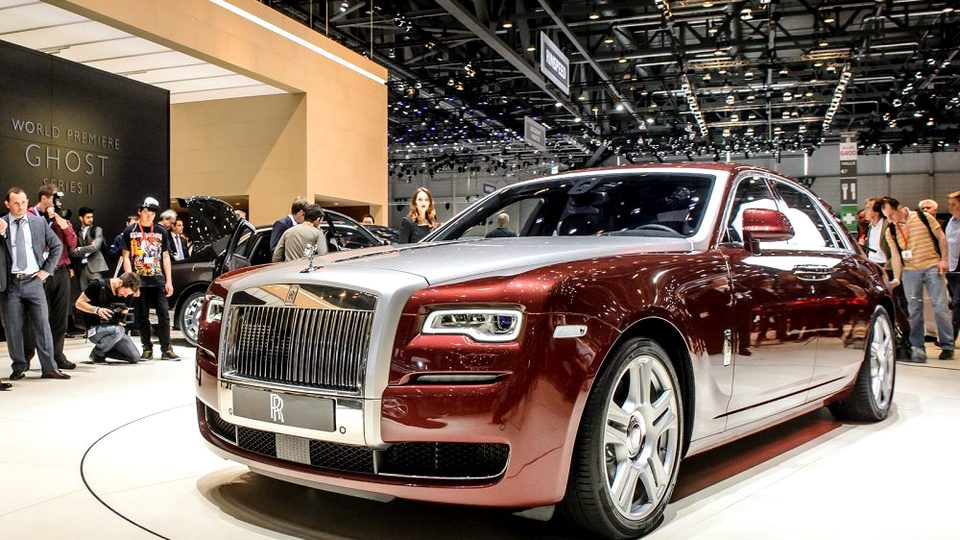 В России за прошлый год продали рекордное количество автомобилей Rolls-Royce