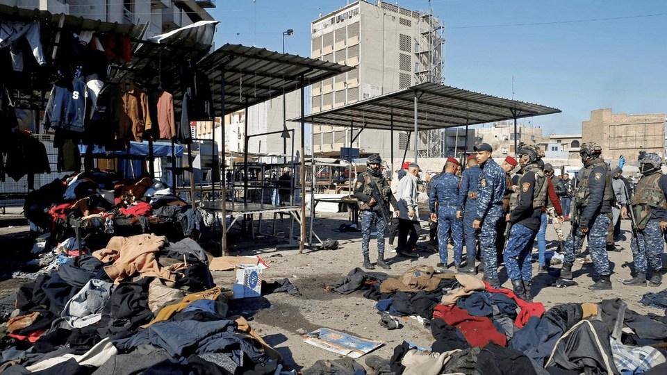 Теракт в Багдаде: жертвами стали 32 человека
