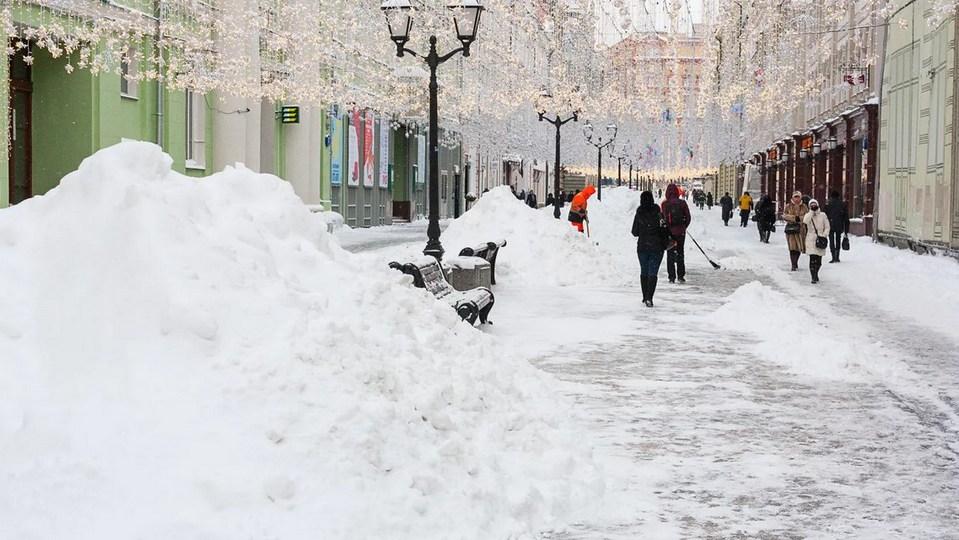 Четверть месячной нормы осадков в Москве может выпасть 28 и 29 января