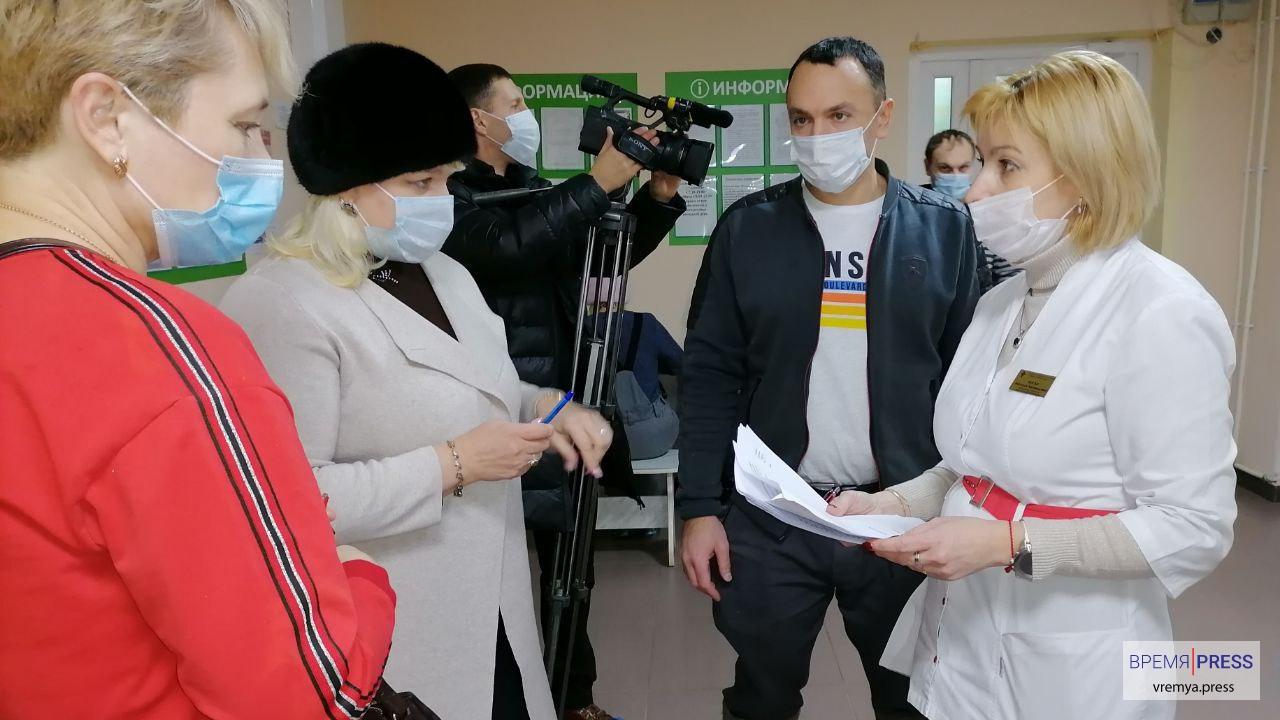В Каменске-Уральском 720 человек записались на прививку от COVID-19