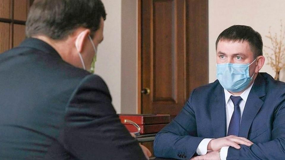 Шмыков принял предложение Куйвашева стать замгубернатора