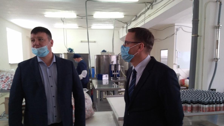 Ио главы Каменска-Уральского Алексей Герасимов начал знакомство с малым бизнесом