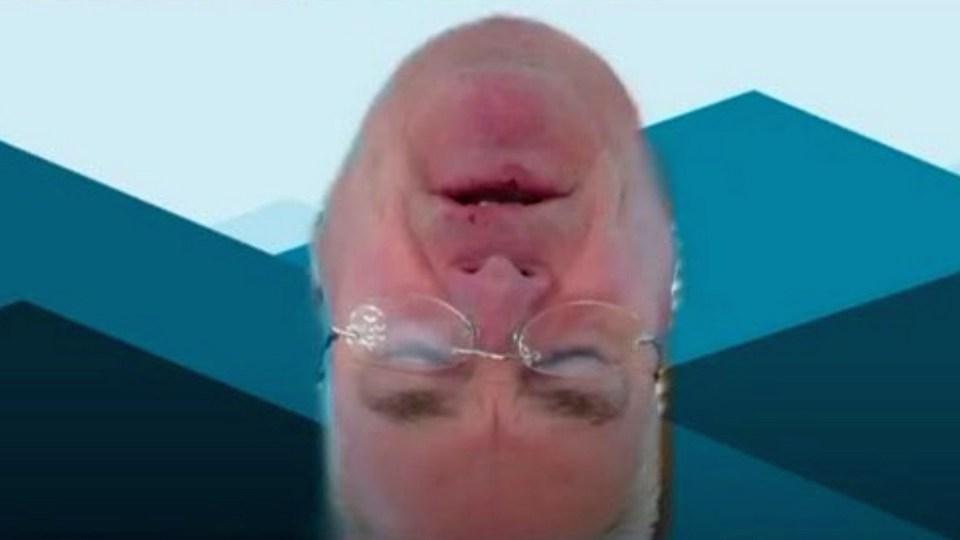 """Конгрессмен США повеселил коллег, выйдя в прямой эфир с """"перевернутой головой"""""""