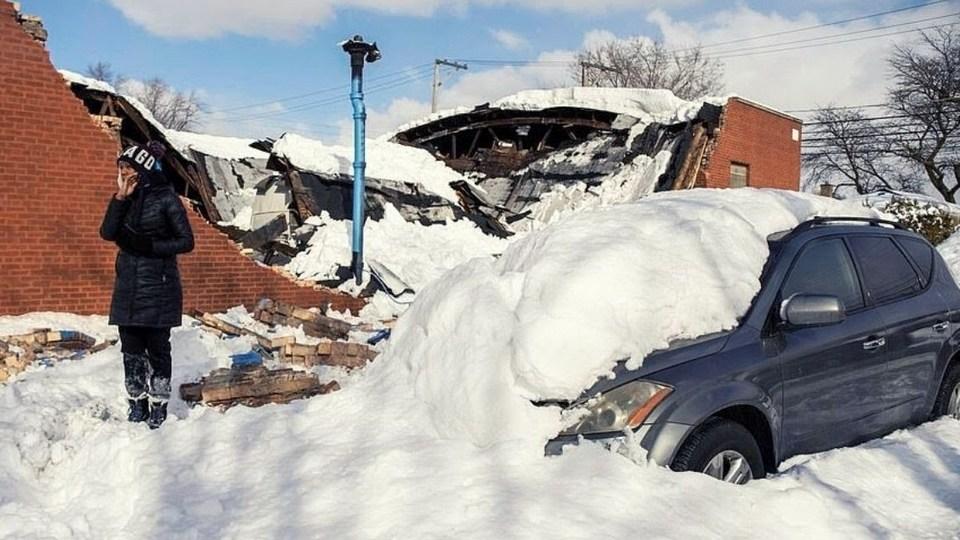 Техас завалило снегом, местные жители обвинили во всем Байдена