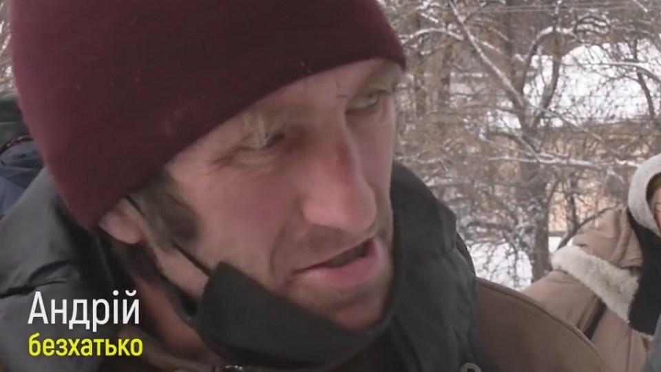Украинский бомж отчитал мэра города за отсутствие общественных туалетов