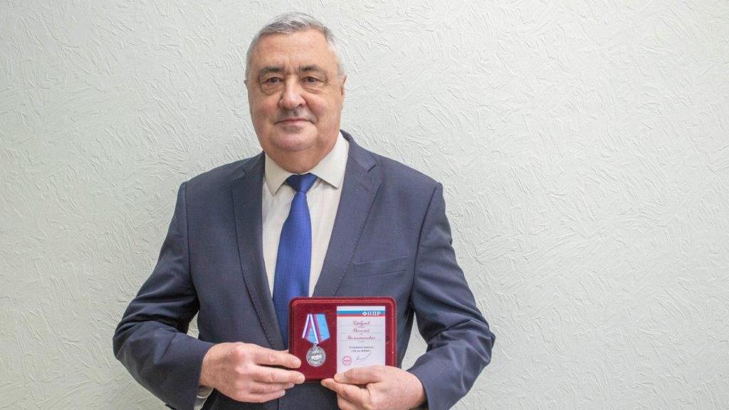Профсоюзные лидеры СинТЗ получили награды