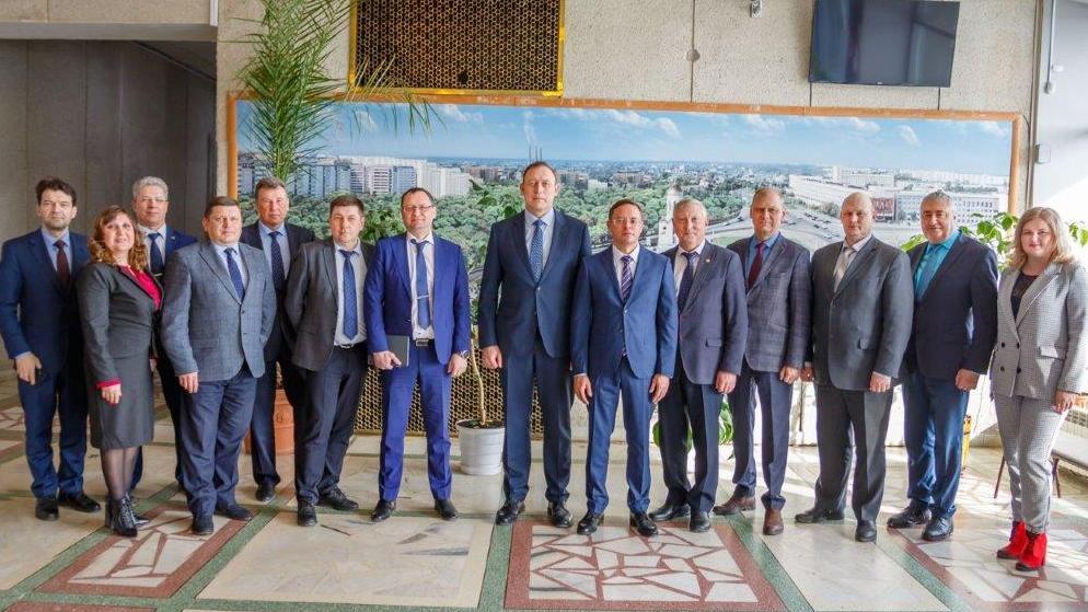 Синарские трубники поздравили нового главу города со вступлением в должность