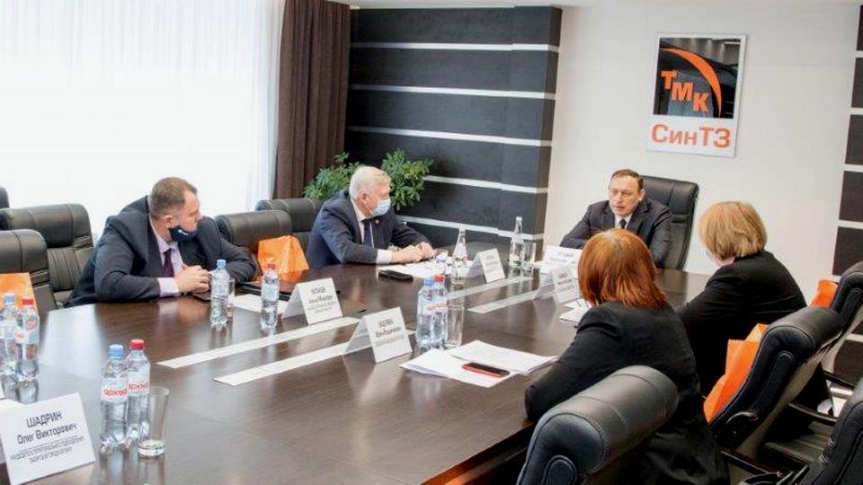 На СинТЗ прошло годовое отчетное собрание Южного объединения областного союза промышленников и предпринимателей