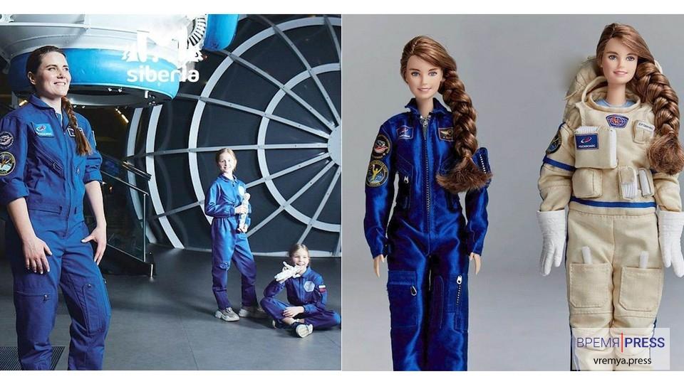 Российский космонавт Анна Кикина стала прообразом куклы Барби