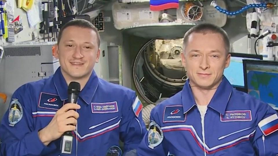 Российские космонавты с МКС поздравили россиянок с 8 Марта