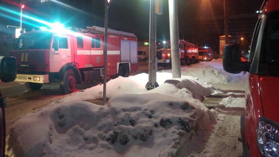Пожар в Уфе: погибли двое взрослых и ребенок