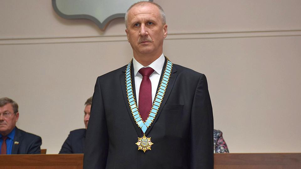 Мэр Шадринска Виктор Ермишкин уходит в отставку