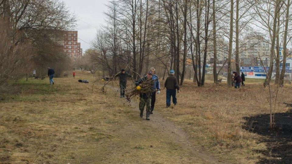 В Каменске-Уральском набирают обороты весенние субботники