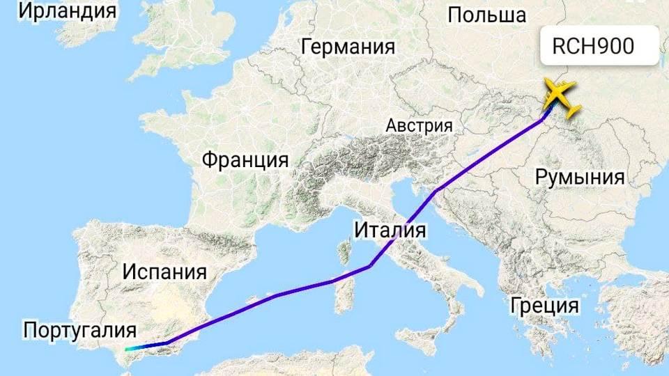 Военно-транспортный самолёт ВВС США доставил группу военных с оружием и оборудованием на Украину