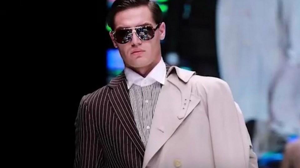 23-летний парень из Свердловской области стал моделью Versace