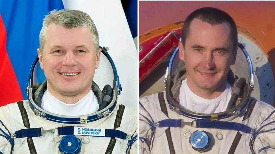 Российские космонавты Олег Новицкий и Петр Дубров 9 апреля отправятся на МКС