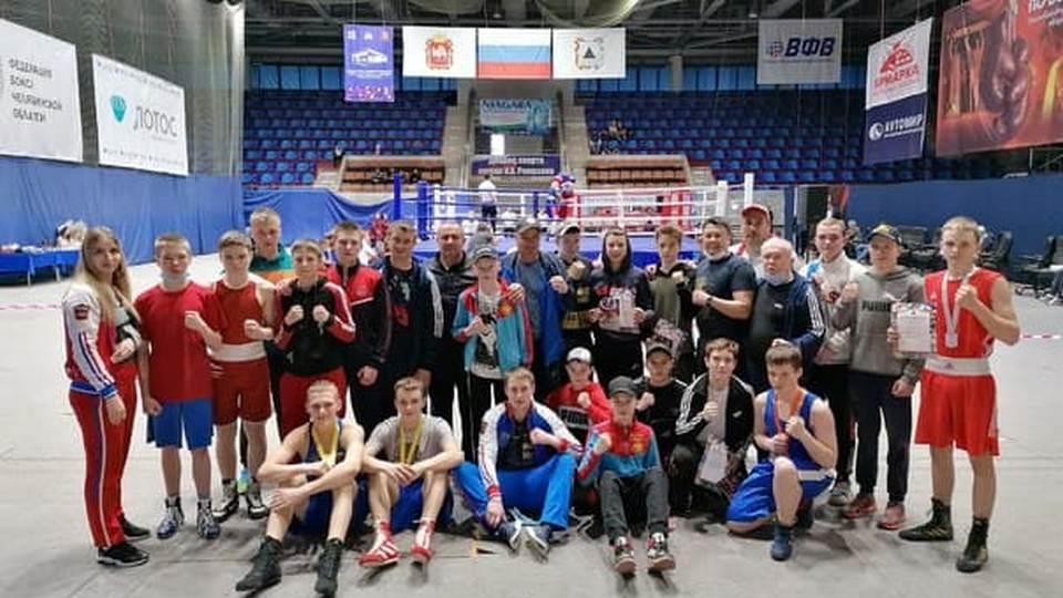 Каменские спортсмены завоевали пять медалей в первенстве УрФО по боксу
